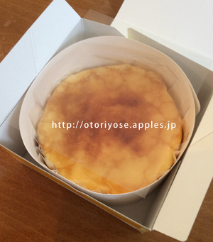 ドトールのチーズケーキ
