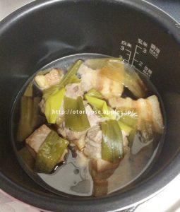 シロカ 電気圧力鍋で煮豚
