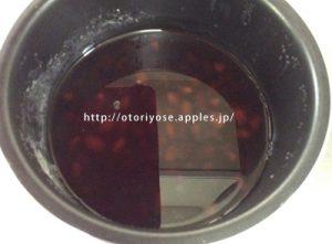シロカ 電気圧力鍋で黒豆煮